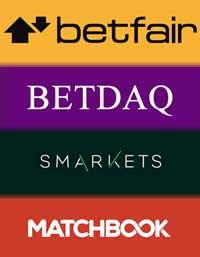 Betting exchange logos