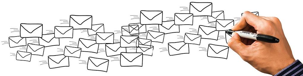 hand written envelopes