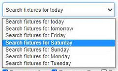 Custom Shortlist Pro: Search fixtures up to 7 days ahead