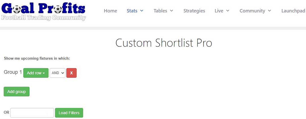 Custom Shortlist Pro