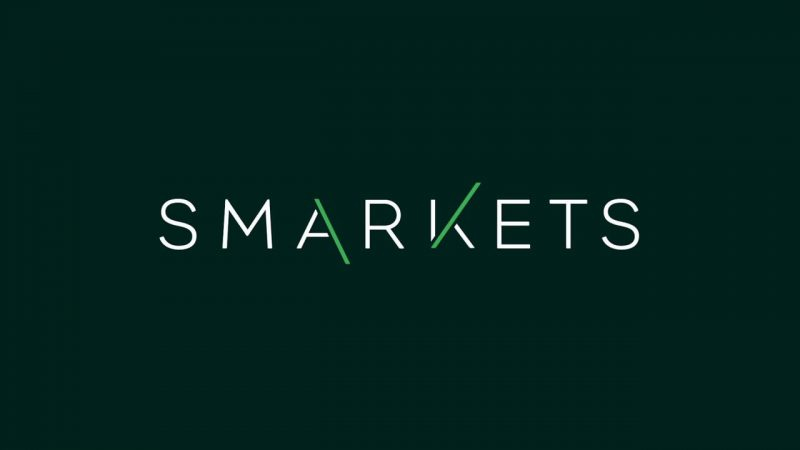 The Smarkets betting exchange logo on a green background.