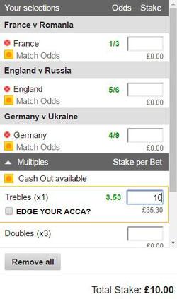Betting trebles fourfolds vulcan lol betting
