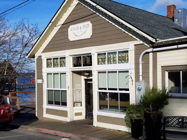 Knead & Feed bakery and coffee shop, Coupeville