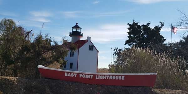 East Point Lighthouse Cape May New Jersey