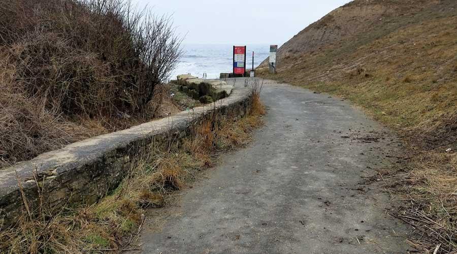 Pathway leading to Ryhope Dene Beach