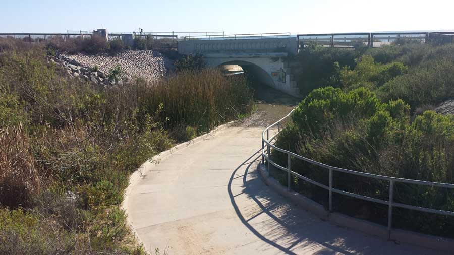 Tunnel leading to Crystal Cove State Park, Laguna Beach