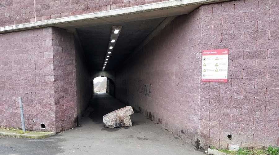 Tunnel leading to Ryhope Dene Beach