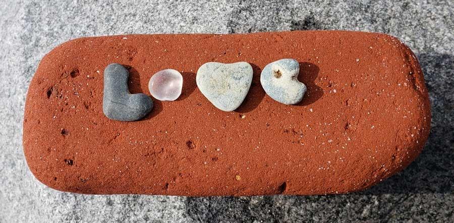 LOVE Capistrano Beach Park