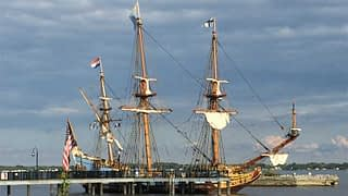 tall ship battery park new castle delaware