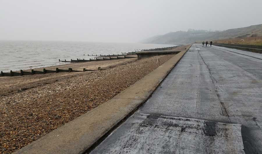 Beach at Minster-on-Sea, Swale, Isle of Sheppey