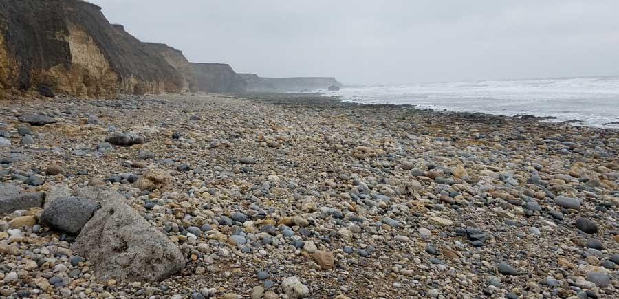 View of Ryhope Dene Beach