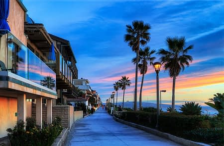 The Strand at El Porto, California