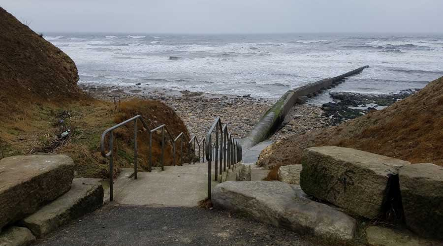 Stairway to Ryhope Dene Beach