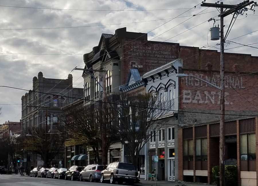 First National Bank building, Port Townsend, Washington