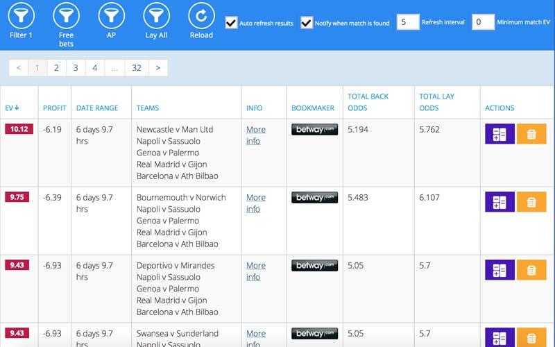 Accumulator Generator review: Acca Matcher software