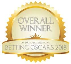 "Betting System Oscars 2018 ""Overall Winner"""