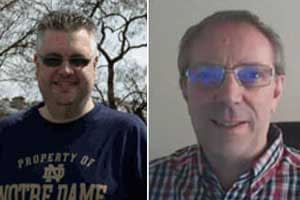 Steve Brown and Kevin Laverick, professional football traders at Goal Profits