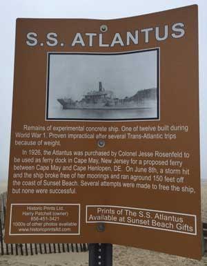 SS Atlantis Sunken Ship
