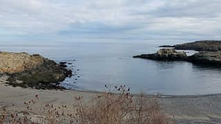 40 Steps Beach in Nahant Massachusetts.