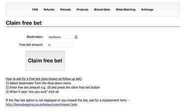 Matched betting calculator bonus bagging reviews svenska spel live betting sportsbooks