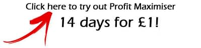 Get 14 days access to Profit Maximiser for just £1 with our special offer!