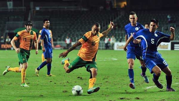 Australia's Archie Thompson also broke the international record for most goals in a game, scoring 13.