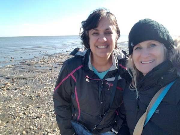 jonna and jennifer at woodland beach delaware