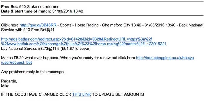 Spread betting bonus bagging odds bettingexpert tips