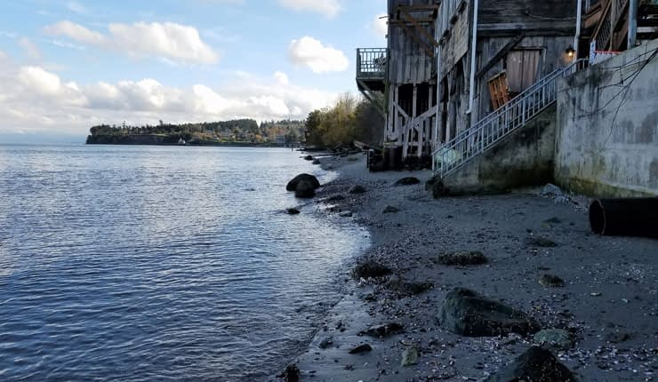 Beach at Coupeville, Washington