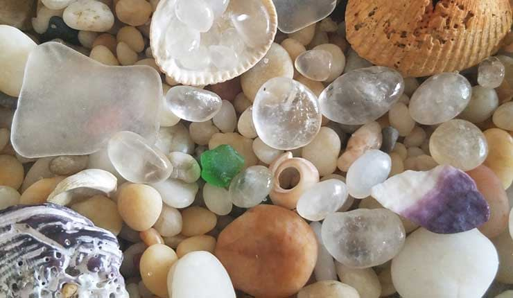 sea glass cape may diamonds and sand new jersey