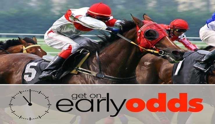 Early horse racing betting bags bookmakers betting